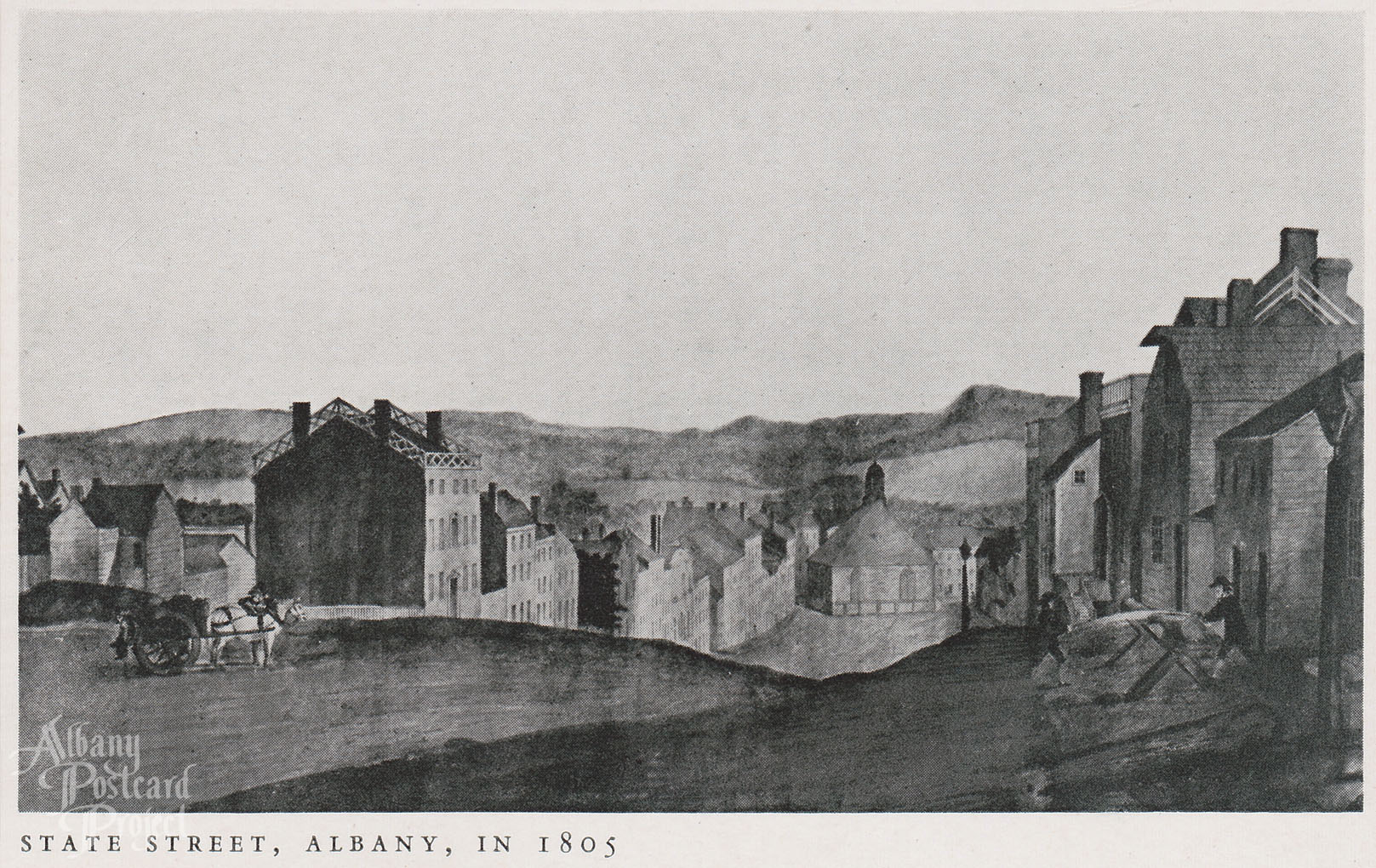 State Street in 1805