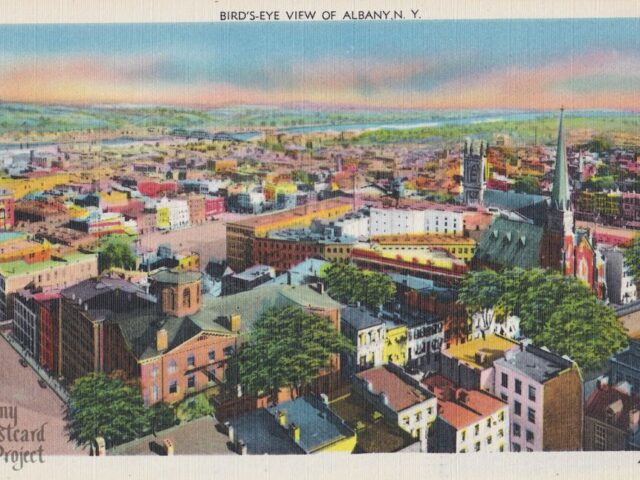 Bird's-Eye View of Albany