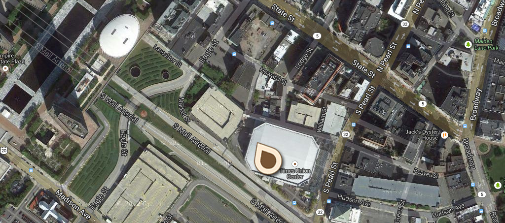 Map Public Market and Lyon Block