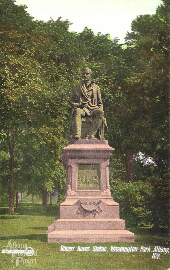Robert Burns Statue Washington Park