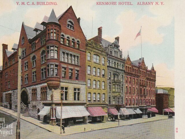Y.M.C.A. Building and Kenmore Hotel