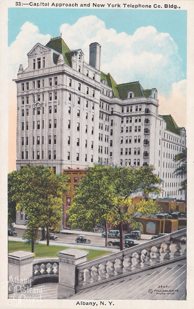 Capitol Approach and New York Telephone Co. Bldg