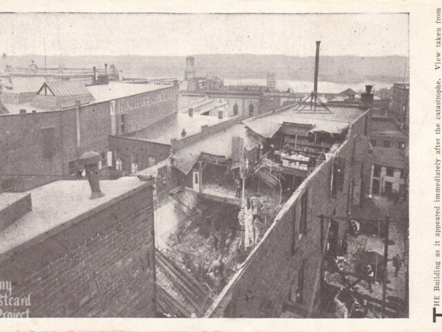 Myers Dry Goods Building Collapse
