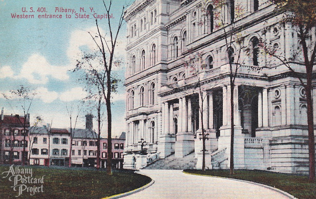Western Entrance to State Capitol