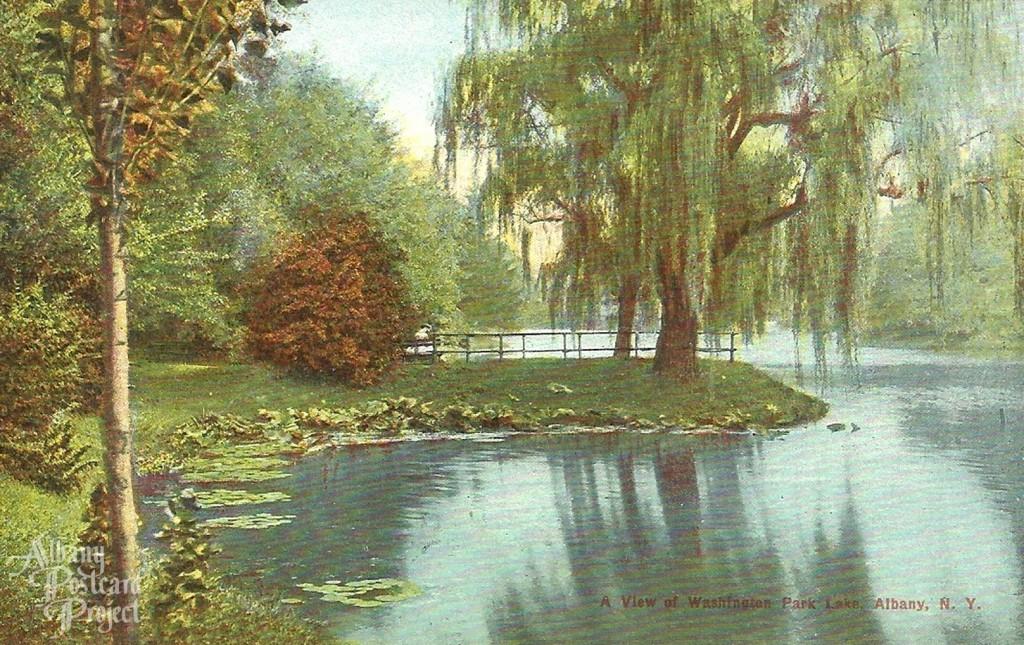 A View of Washington Park Lake