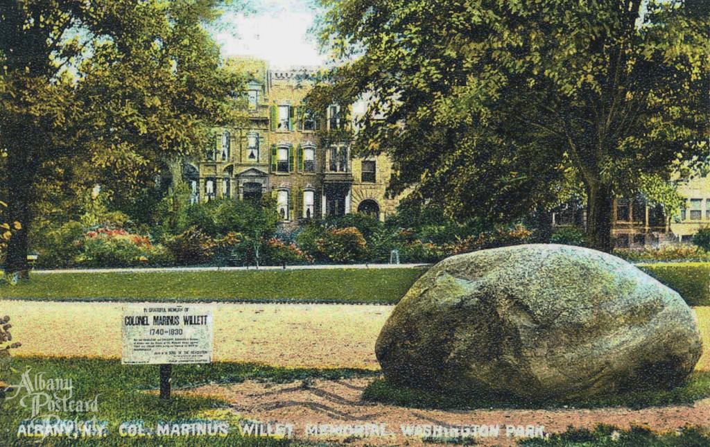 Col Marinus Willet Memorial, Washington Park