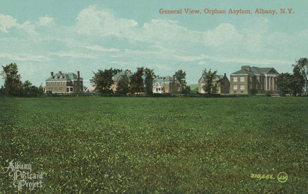 General View, Orphan Asylum