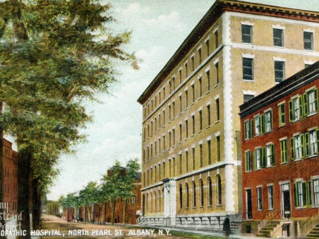 Homeopathic Hospital, North Pearl St.