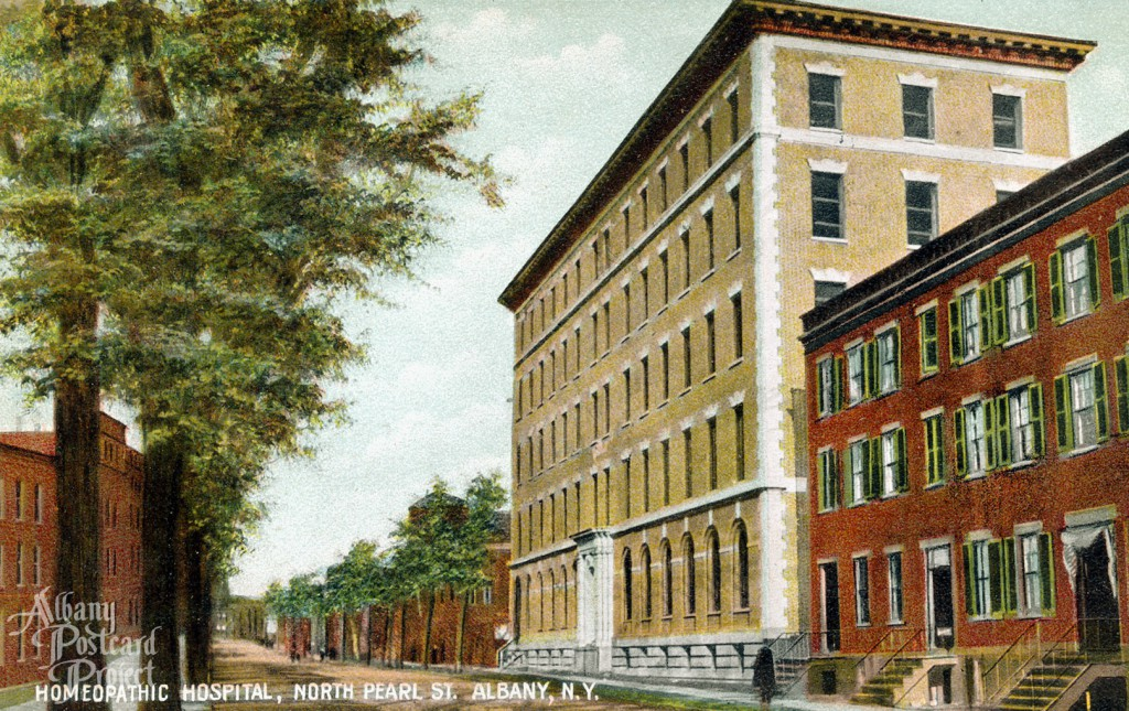 Homeopathic Hospital, North Pearl St