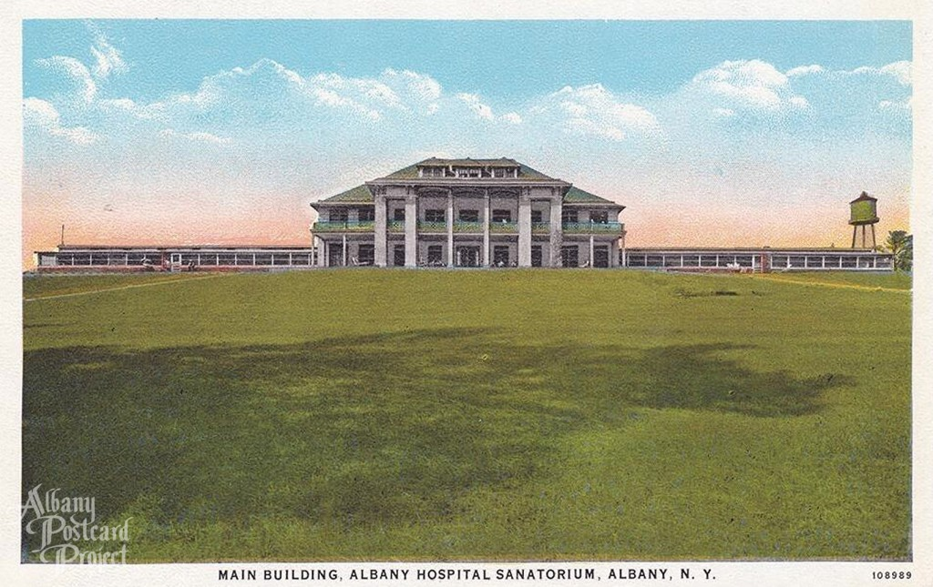 Main Building, Albany Hospital Sanatorium