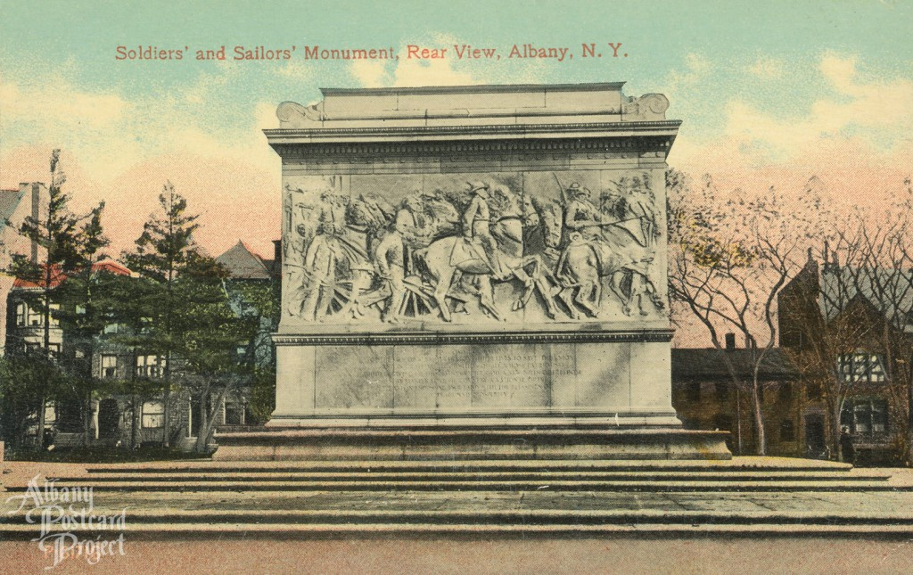 Soldiers' and Sailors' Monument, Rear View