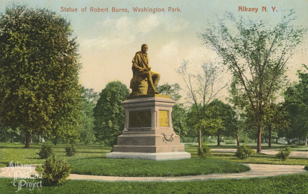 Statue of Robert Burns, Washington Park