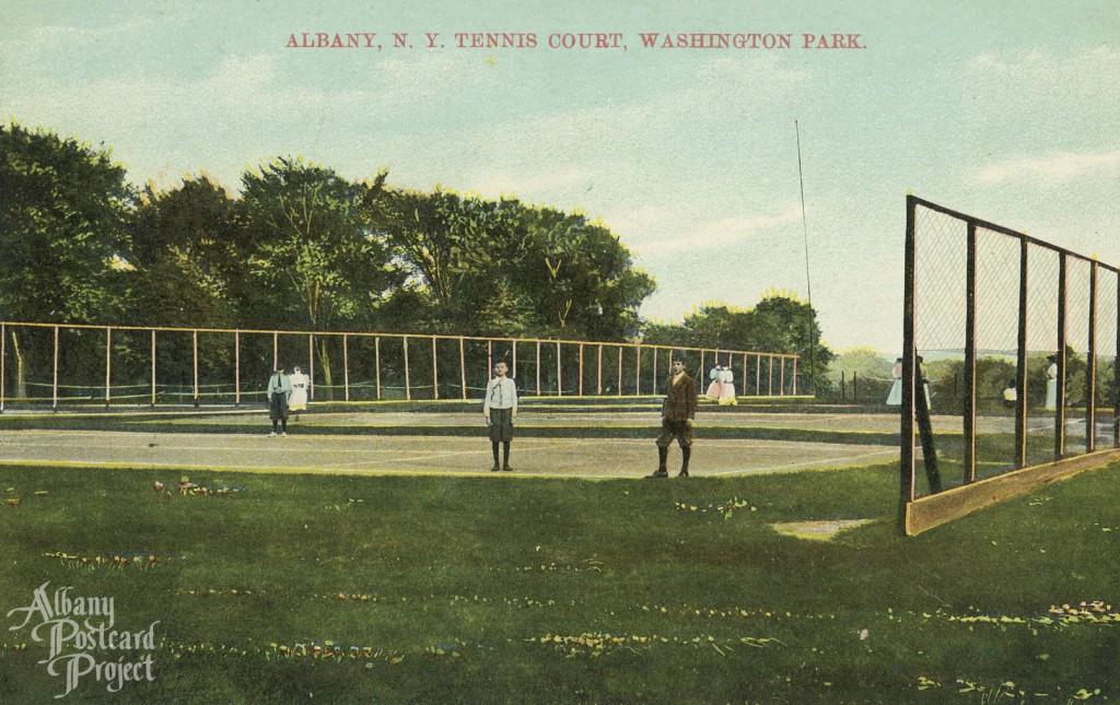 Tennis Court, Washington Park
