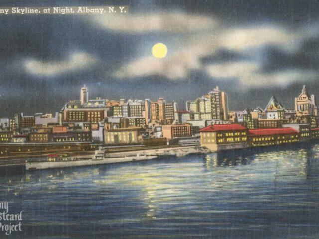 Albany Skyline, at Night