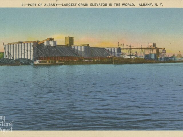 Port of Albany – Largest Grain Elevator in the World