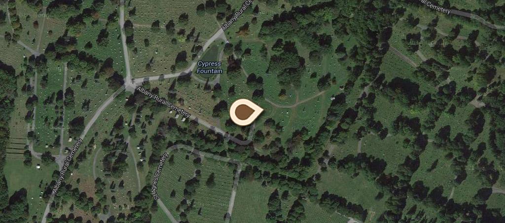 Map Rural Cemetery