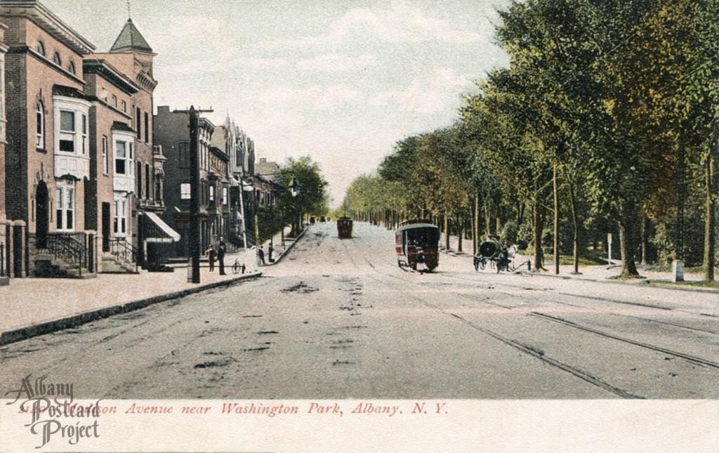Madison Avenue near Washington Park