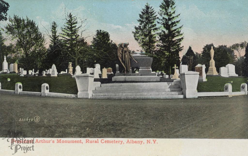 President Arthur's Monument, Rural Cemetery