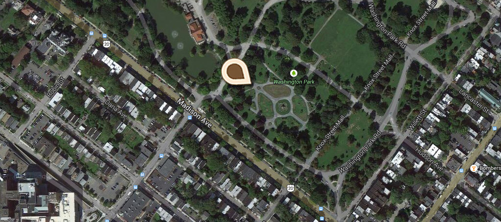Map A View in Washington Park