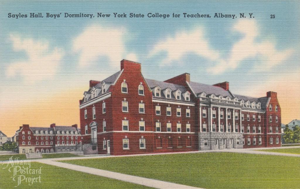 Sayles Hall, Boys' Dormitory, New York State College for Teachers