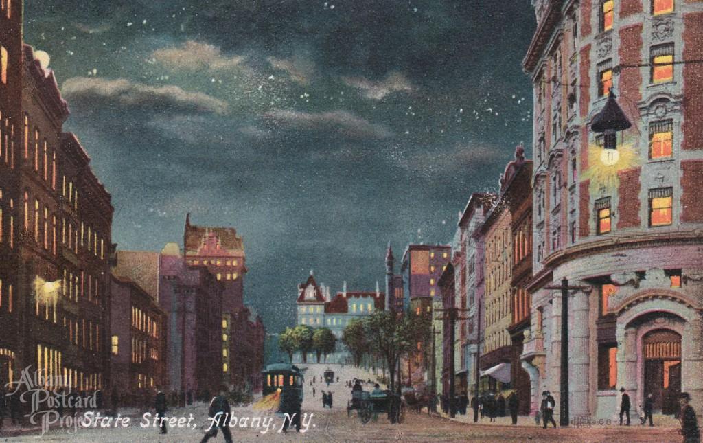 State Street Night Scene
