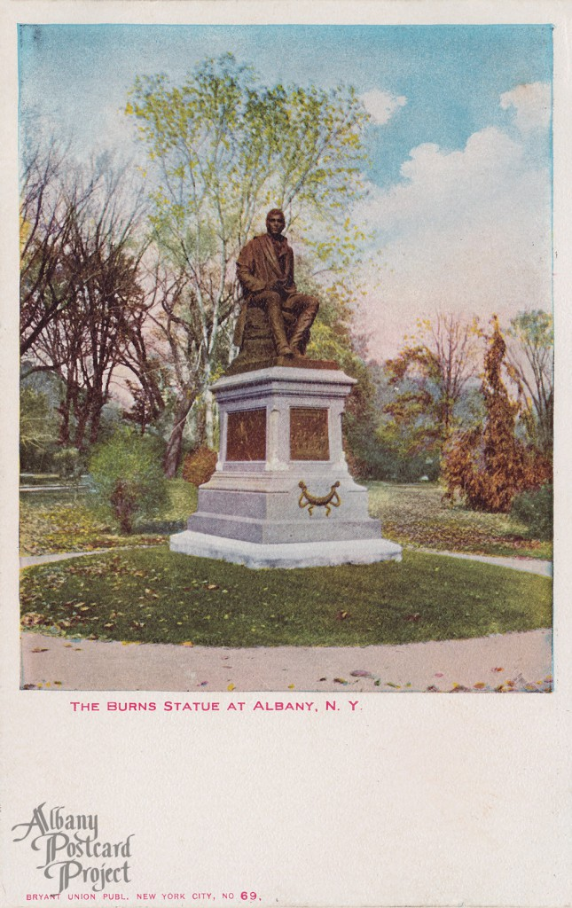 The Burns Statue