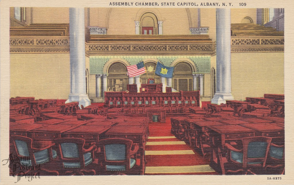 Assembly Chamber, State Capitol