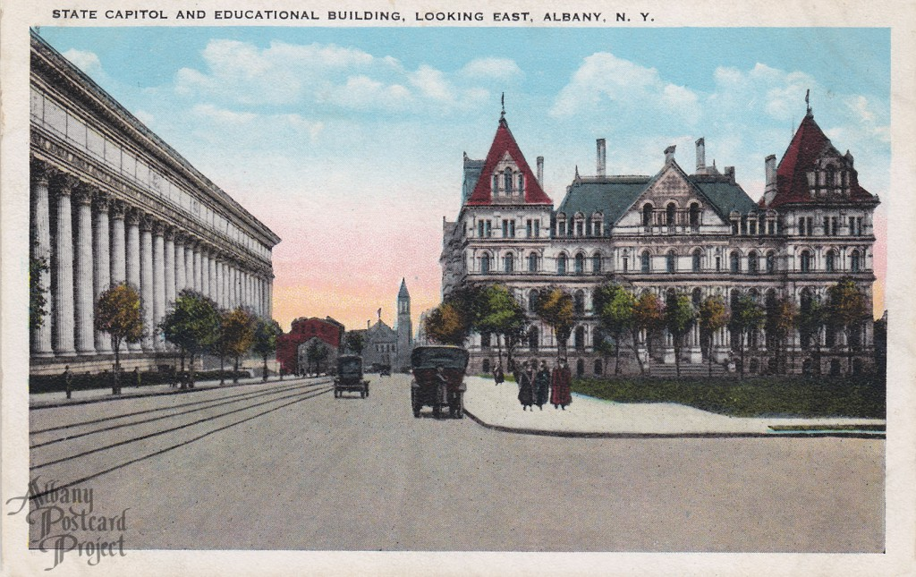 State Capitol and Educational Building, Looking East