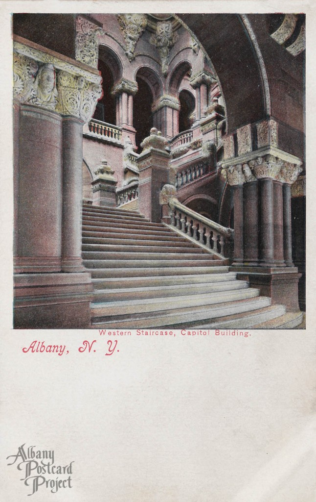 Western Staircase, Capitol Building