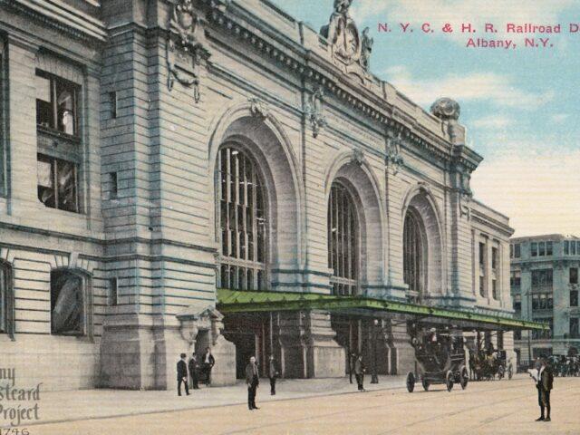 N.Y.C. & H.R. Railroad Depot