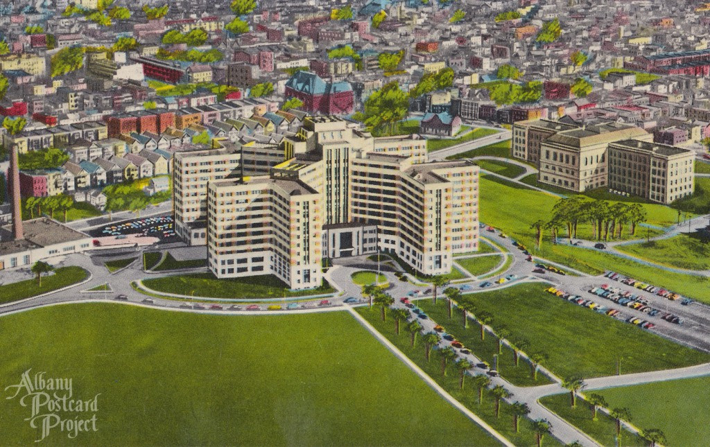 Air View, Veterans Hospital