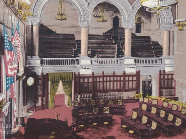 Senate Chamber; State Capitol