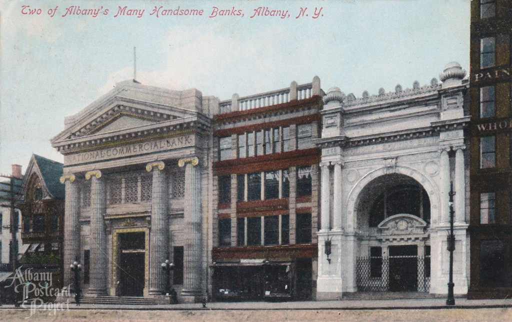Two of Albany's Many Handsome Banks