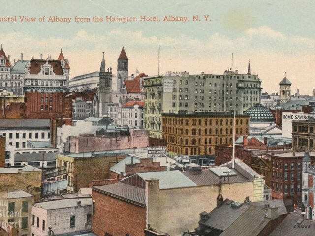 General View of Albany from the Hampton Hotel