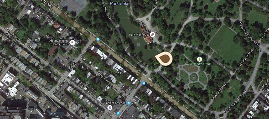 Map Lake in Washington Park