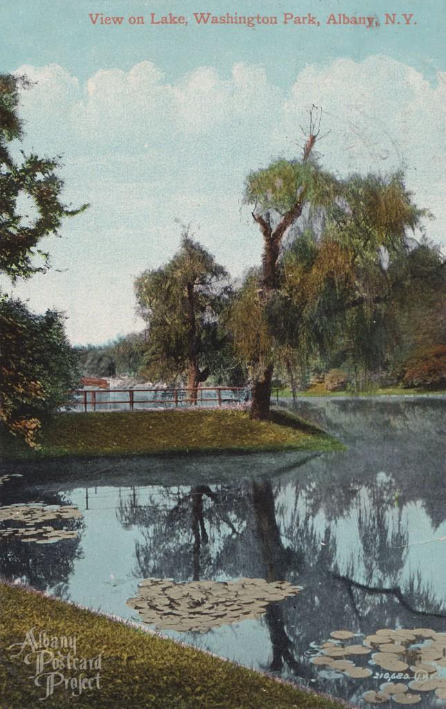View on Lake, Washington Park