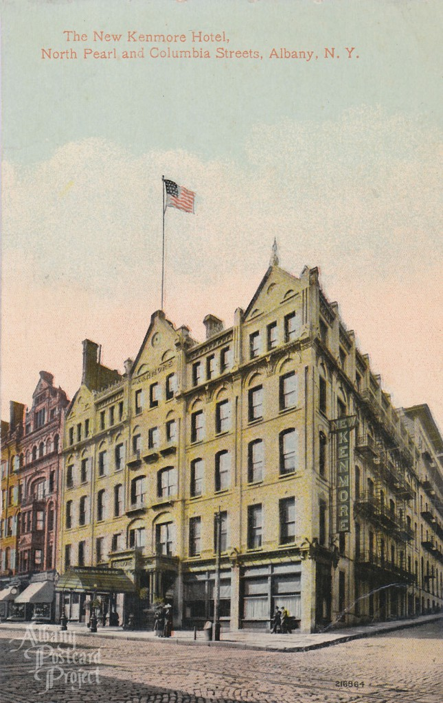 The New Kenmore Hotel, North Pearl and Columbia Streets