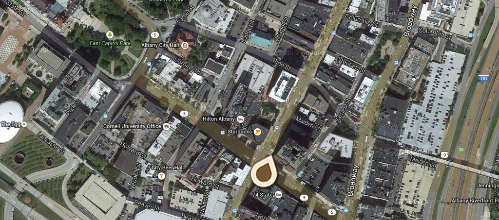 Map N Pearl St