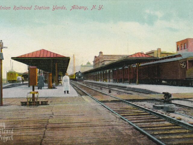 The Union Railroad Station Yards