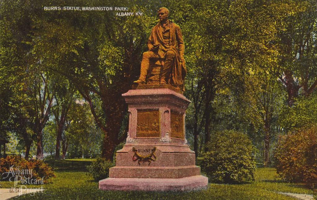 Burns Statue Washington Park