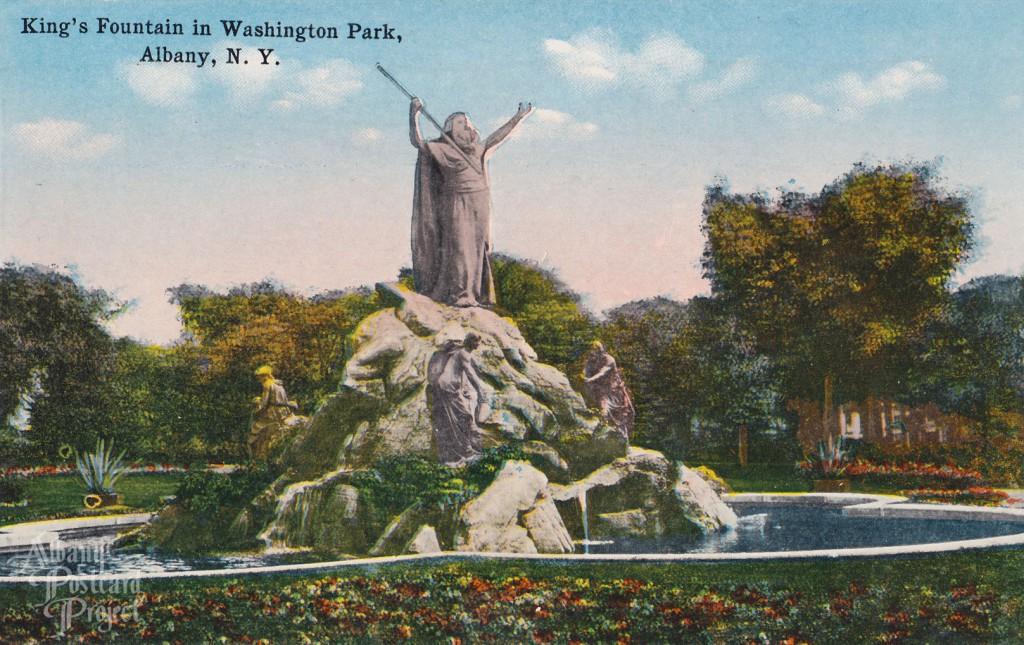 King's Fountain in Washington Park