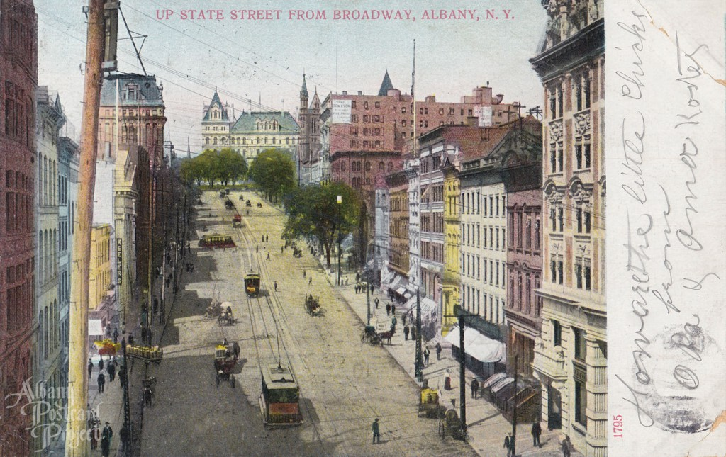 Up State Street From Broadway