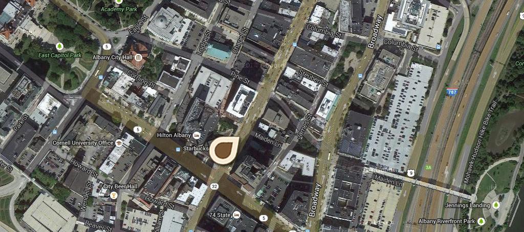 Map North Pearl Street 01