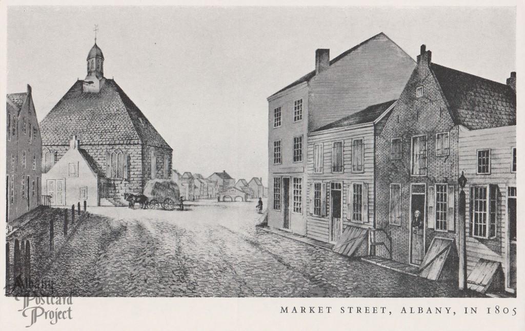 Market Street Albany in 1805