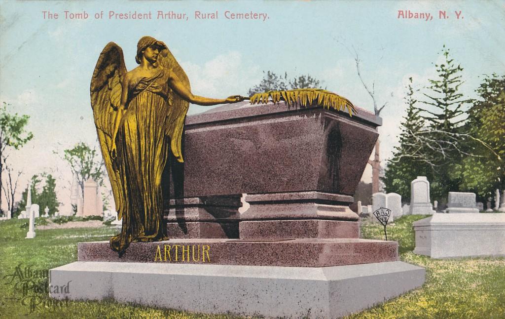 The Tomb of President Arthur, Rural Cemetery