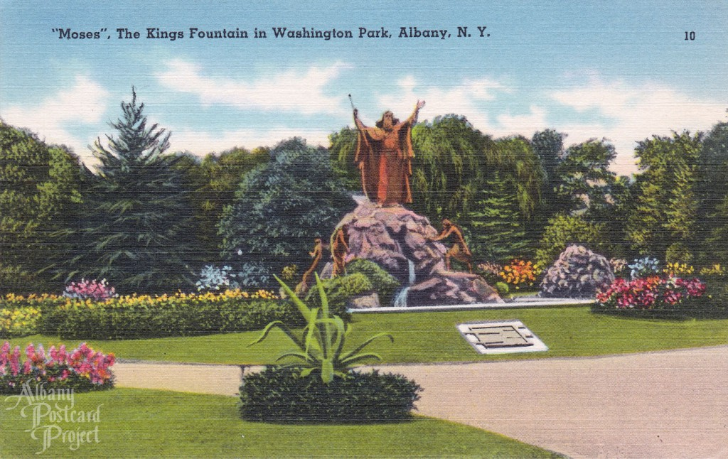 %22Moses%22, The Kings Fountain in Washington Park