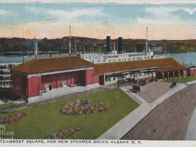 Steamboat Square, and New Steamer Docks