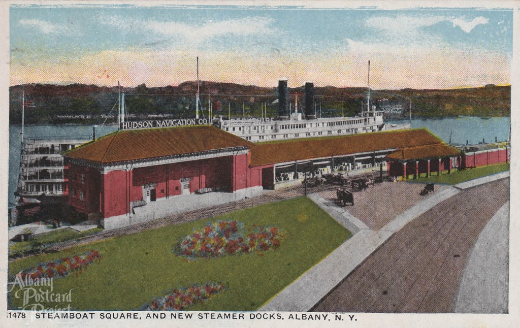 Steamboat Square and New Steamer Docks