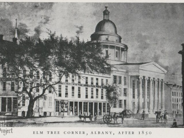 Elm Tree Corner, Albany, After 1850