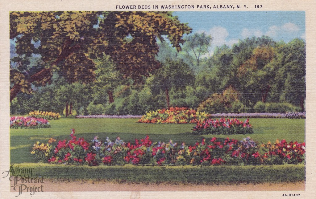 Flower Beds in Washington Park